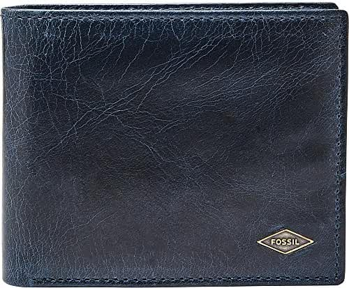 Fossil Men's RFID Blocking Ryan Bifold Wallet with Flip Id