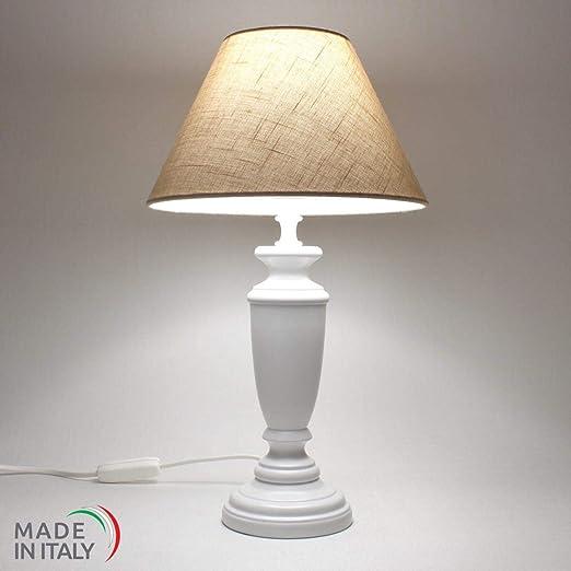 genérico lámpara lámpara Mesa de Noche Shabby Chic de auténtica ...