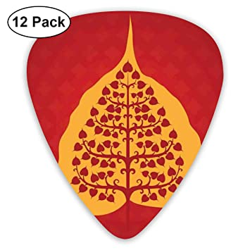 Guitar Picks12pcs Plectrum (0.46mm-0.96mm), Artistic Design ...