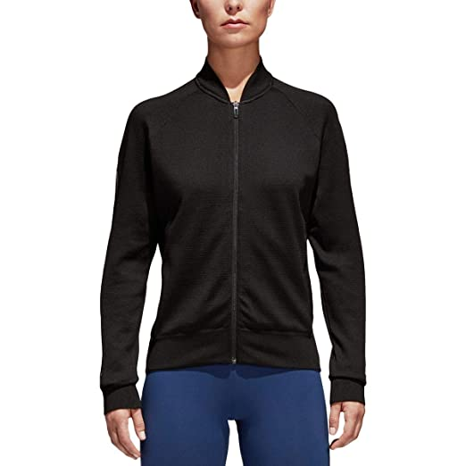 1d0f85c3ca20 adidas Womens Athletic Lightweight Bomber Jacket at Amazon Women s ...