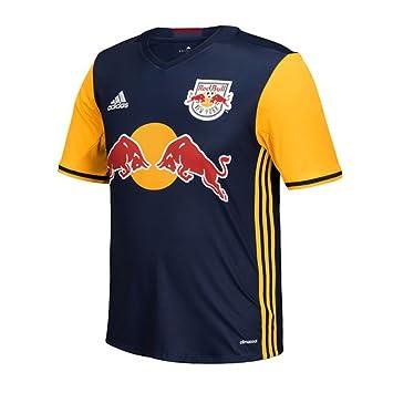 b6f3cfea1c3 MLS New York Red Bulls Men's Replica Short Sleeve Jersey, Small, ...