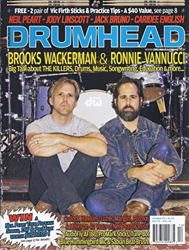 Promark Stand - Drumhead Magazine (#52 - December 2015 - Cover: Brooks Wackerman & Ronnie Vannucci)
