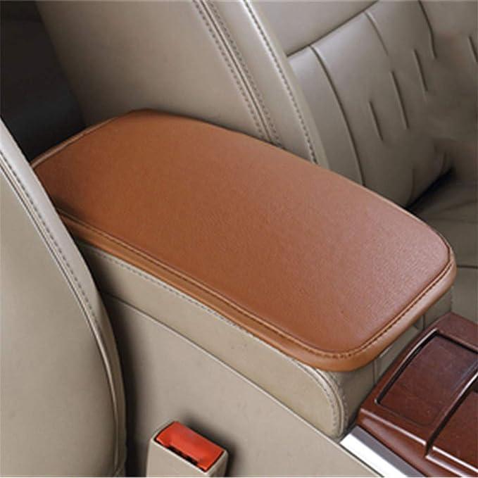 in pelle PU Memory Foam universale per auto free size beige per cruscotto centrale Cuscino per braccioli auto