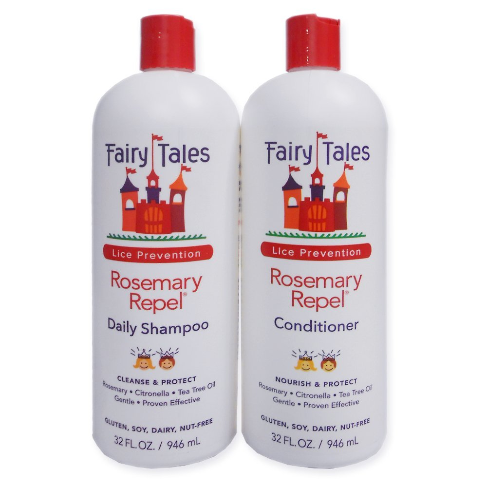 Fairy Tales Rosemary Repel Daily Shampoo and Conditioner, 32 oz. each.