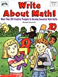img - for Write About Math (Grades 3-6) book / textbook / text book