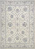 Couristan Sultan Treasures Persian Isfahan Area Rug, 2′ x 3'7″, Antique Creme