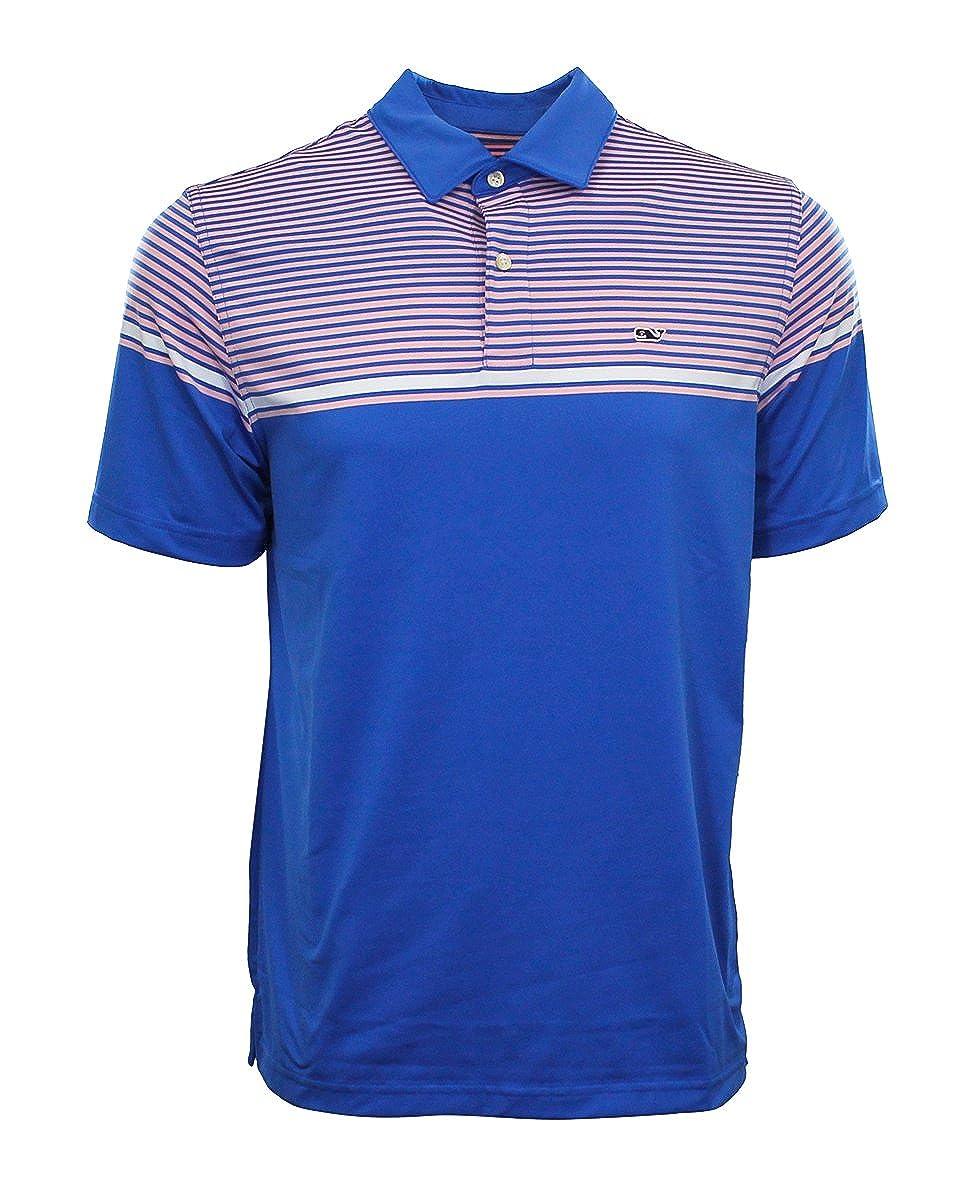 Vineyard Vines Mens Performance Short Sleeve Polo Shirt Shaw