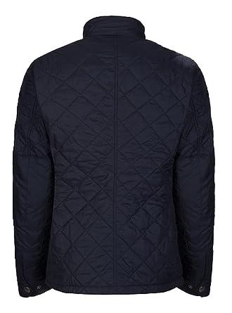 Veste matelassée Barbour International - Noire - Bleu - XL  Amazon ... 3c3d872e538