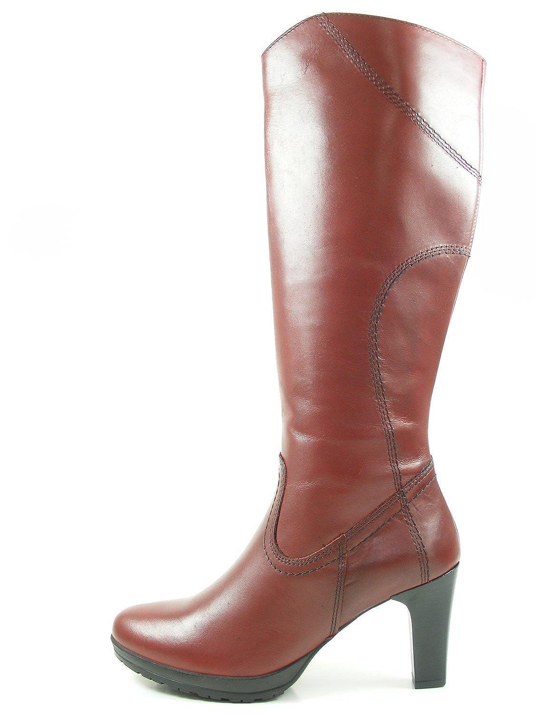 Tamaris 25567 21 Damen Stiefel Leder, Schwarz, Größe 42