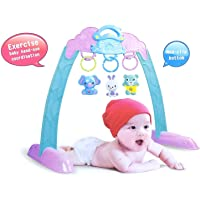 WP Mushroom House mulitcolour Baby Game Zone Frame for Baby Exercise and Hand Eye co-Ordination