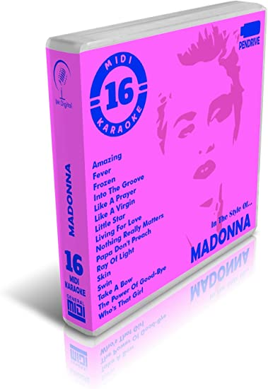 Madonna - Pendrive USB OTG - Contiene 16 Midi Karaoke Al ...