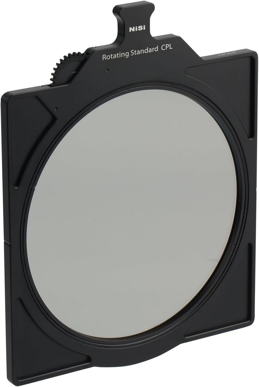 NiSi NIC-66-CPL Rotating Circular Polarizer for 6.6x6.6 Matte Box Black