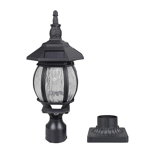 Amazon.com: Kemeco ST6220Q-H - Lámpara solar de techo de ...