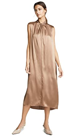0da13b4b54da3 Amazon.com  Vince Women s Neck Knot Dress  Clothing