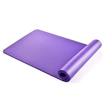 YJD Estera de Yoga Engrosamiento colchoneta de Ejercicios ...