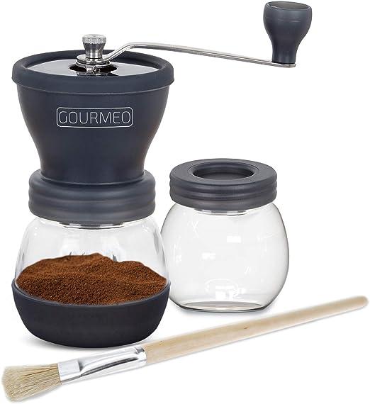 GOURMEO molinillo de café premium de diseño japonés con torno de ...