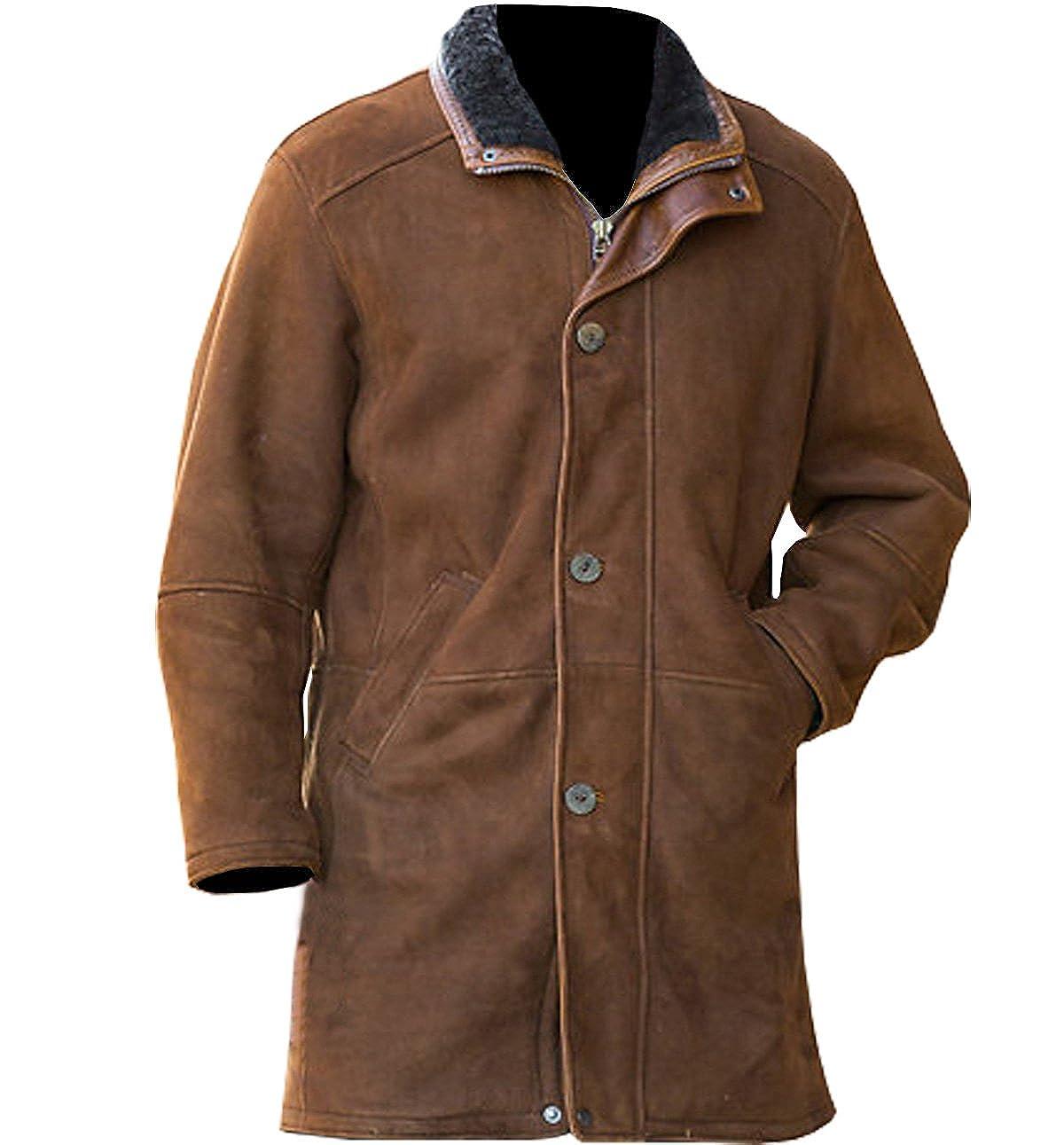 6227d7db0 NMFashions Sheriff Walt Longmire Robert Taylor Trench Coat at Amazon ...