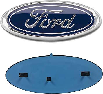 "2005-2014 Ford Emblem Front grill Ford Decal F150 Tailgate Emblem 9in 9/"" X 3.5/"" for Truck /& SUV Dark Blue Dark Blue"