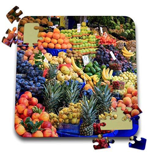 Istanbul Turkey Food - 3dRose Danita Delimont - Food - Turkey, Istanbul. Kadikoy District, Street Market, Fresh Fruits. - 10x10 Inch Puzzle (pzl_312859_2)