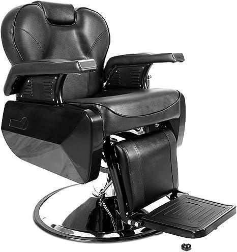 Apelila Professional Swivel Hydraulic Barber Salon Hair Styling Beauty Shampoo Spa Tattoo Bed Shaving Equipment Recliner Barber Chair Amazon Ca Home Kitchen
