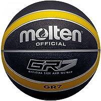 MOLTEN - Balón de Baloncesto (Talla 6), Color Negro y Amarillo ...