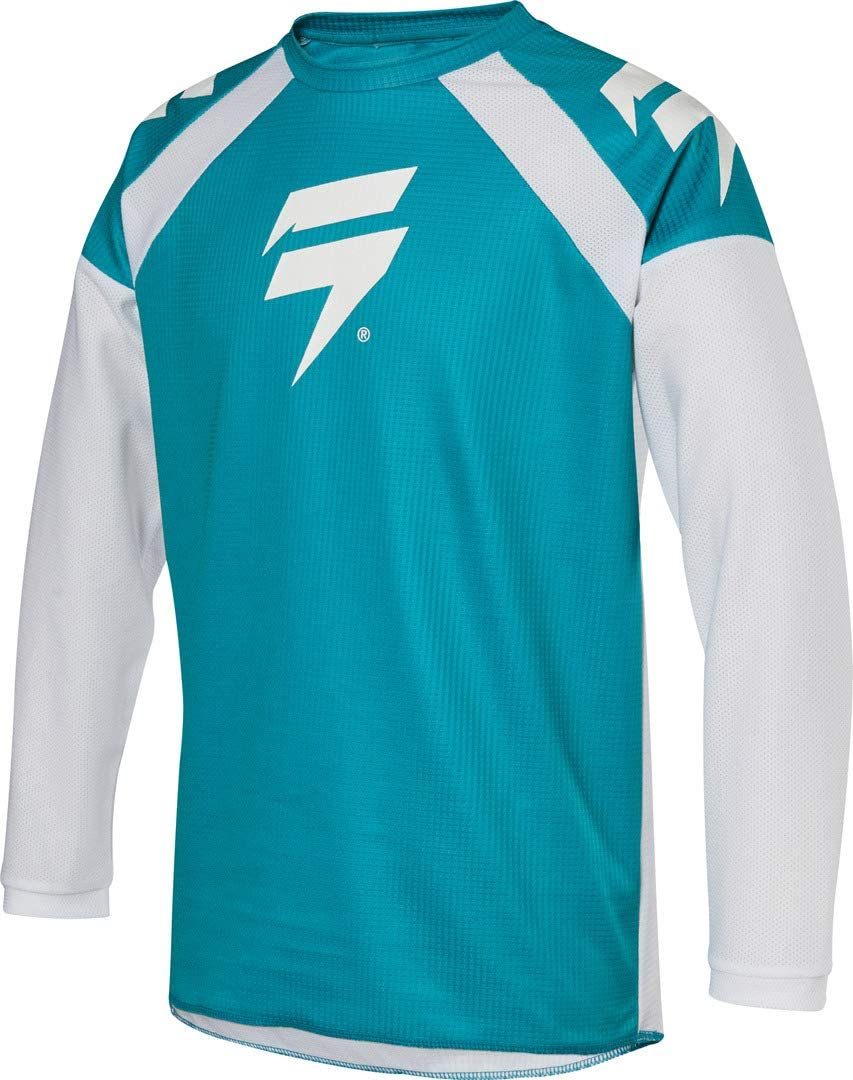 2020 Shift Youth White Label Race 1 Jersey-Green-YM