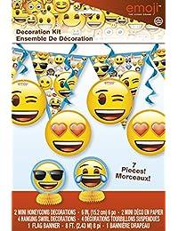 Emoji Party Decoration Kit, 7pc