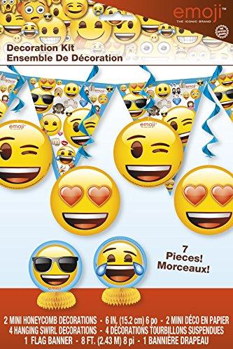 Emoji Party Decorating Kit 7pc