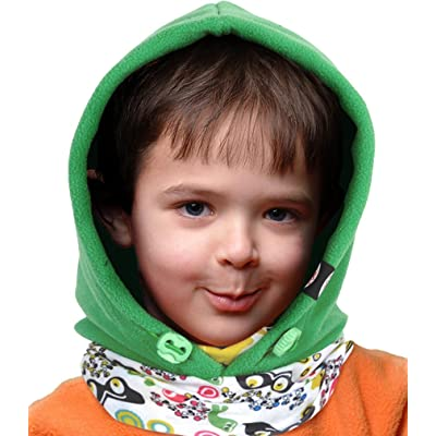 Bienvenu Kids Thermal Warm Fleece Fleece Full Face Cover Hood Mask Balaclava