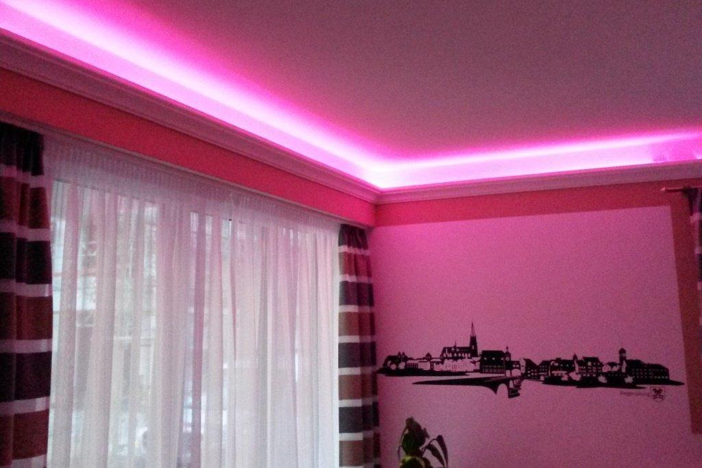 Led Indirekte Beleuchtung bendu klassische und gleichzeitig moderne led stuckleisten bzw