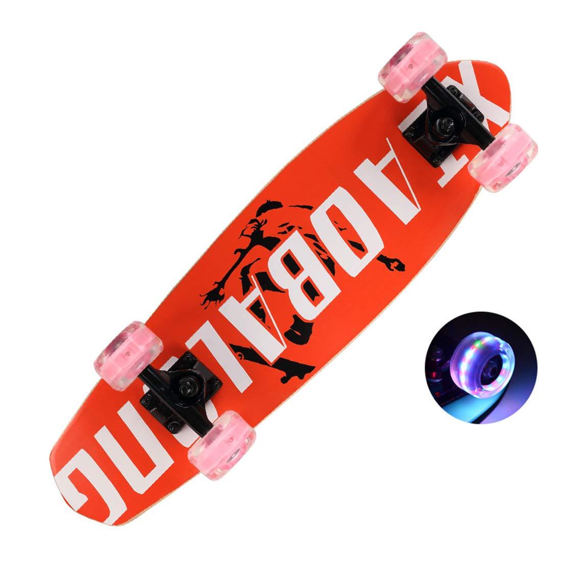 スケートボード68 * 19センチミニメープルデッキABEC-11高速ベアリングとバッグ修理ツールオリジナルベアリング D