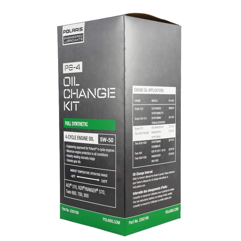 Polaris 2202166 ATV OEM Sportsman Oil & Filter Change Kit