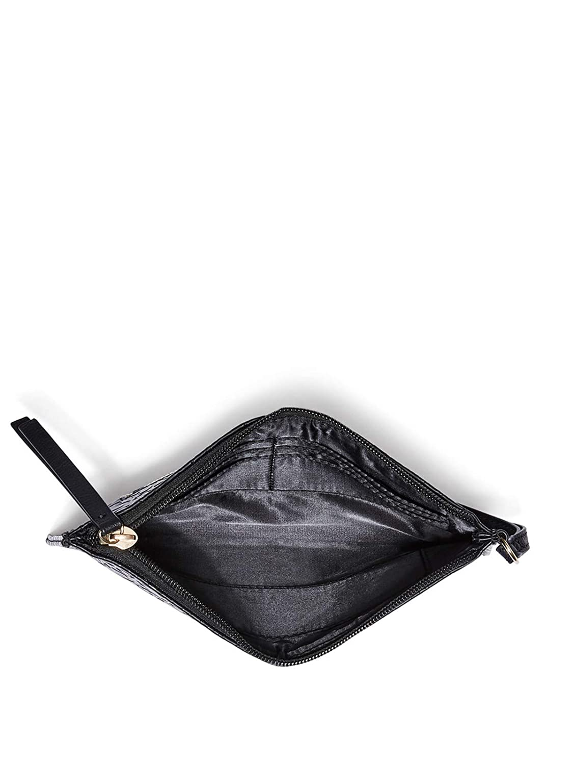 GUESS Factory Womens Cruise Striped Wristlet