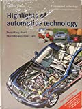 img - for Highlights Of Automotive Technology : Everything About Mercedes Passenger Cars book / textbook / text book