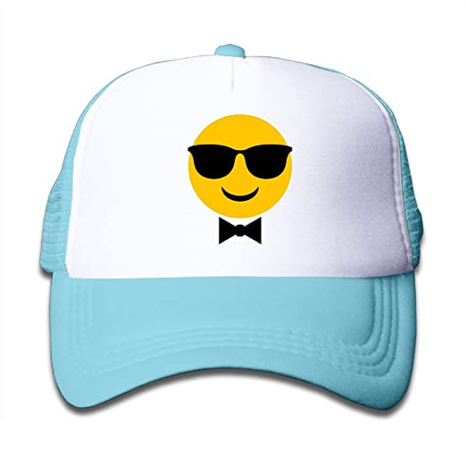 2672d017c Amazon.com: Emoji One Youth Unique Snapbacks Mesh Visor Starter ...