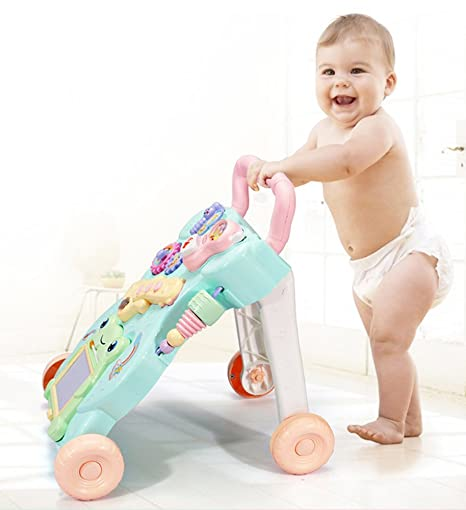 Bebé Que Aprende A Caminar Andador Multifunción Para Evitar El ...