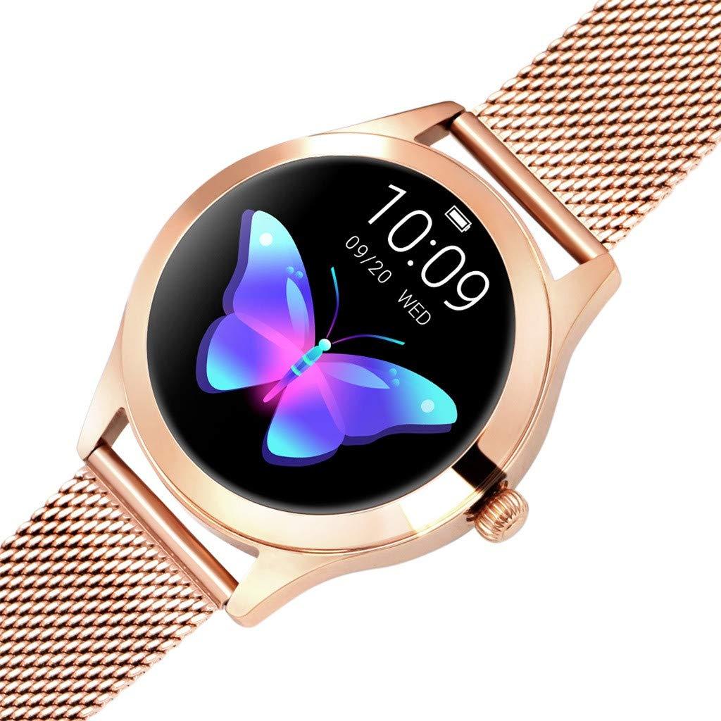 LUXISDE Fitness Bracelet Smartwatch Ladies, Activity Indicator KW10 Smart Watch IP68 Waterproof Wristband for Heart Rate Measurement Fitness by LUXISDE (Image #3)