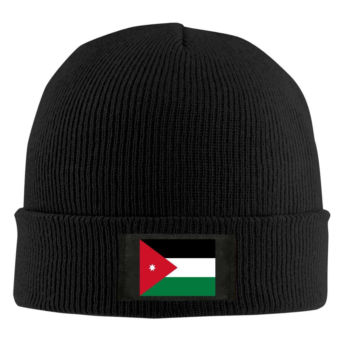 Amazon.com  Jordan Flag Unisex Warm Winter Wool Hat Knit Beanie Skull Cap   Clothing 9bc2c2cc218