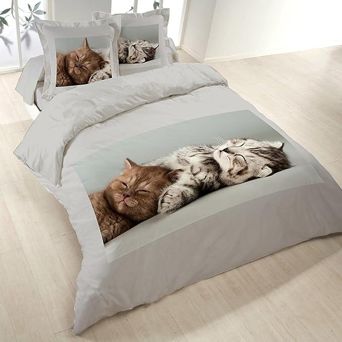 Van Der Haegen & Neckebroeck 4524022KF0CHS Housse de couette Polyester Coton Multicolore 43 x 25 x 6 cm