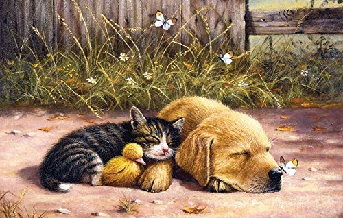 SUNSOUT INC Sleepy Days 100 pc Jigsaw