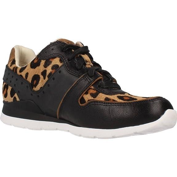 e258f4c0880 UGG Women's Deaven Calf Hair Leopard Chestnut Leopard Oxford: Amazon ...