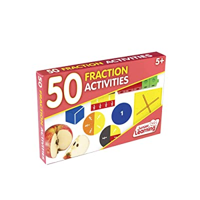 Junior Learning 50 Fraction Activities: Toys & Games [5Bkhe1403756]