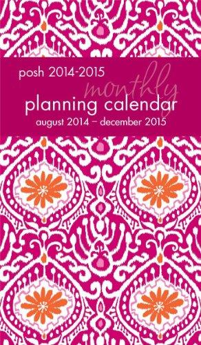 Posh Batik Beauty 2014-2015 Monthly Pocket Planning Calendar (Calendar 2014 Pocket)