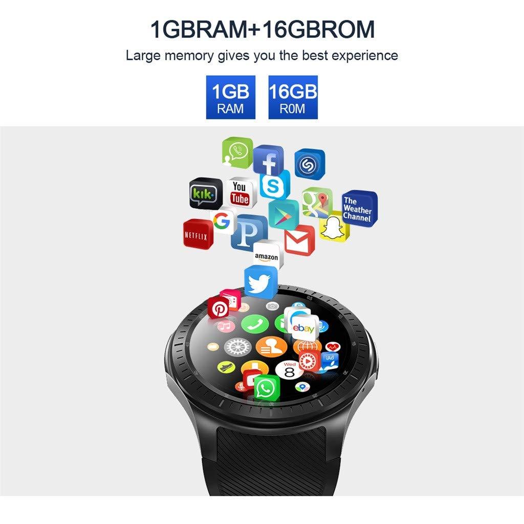 Hukz LEMFO LF25 Test de Fréquence Cardiaque GPS Podomètre Mode Multi-Sport Montre Sport Intelligente HD Grand Affichage à Ecran Tactile Bluetooth 4.0 1G 16G ...