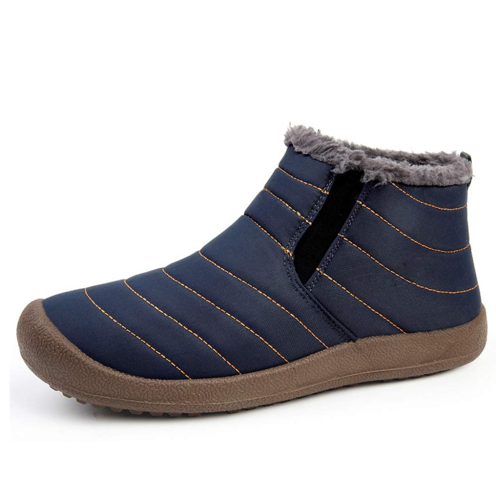 Warme Schneeschuhe Verdickung Winter Stiefeletten Lässige Warme Stiefelie Anti-Slip Für Damen Und Herren