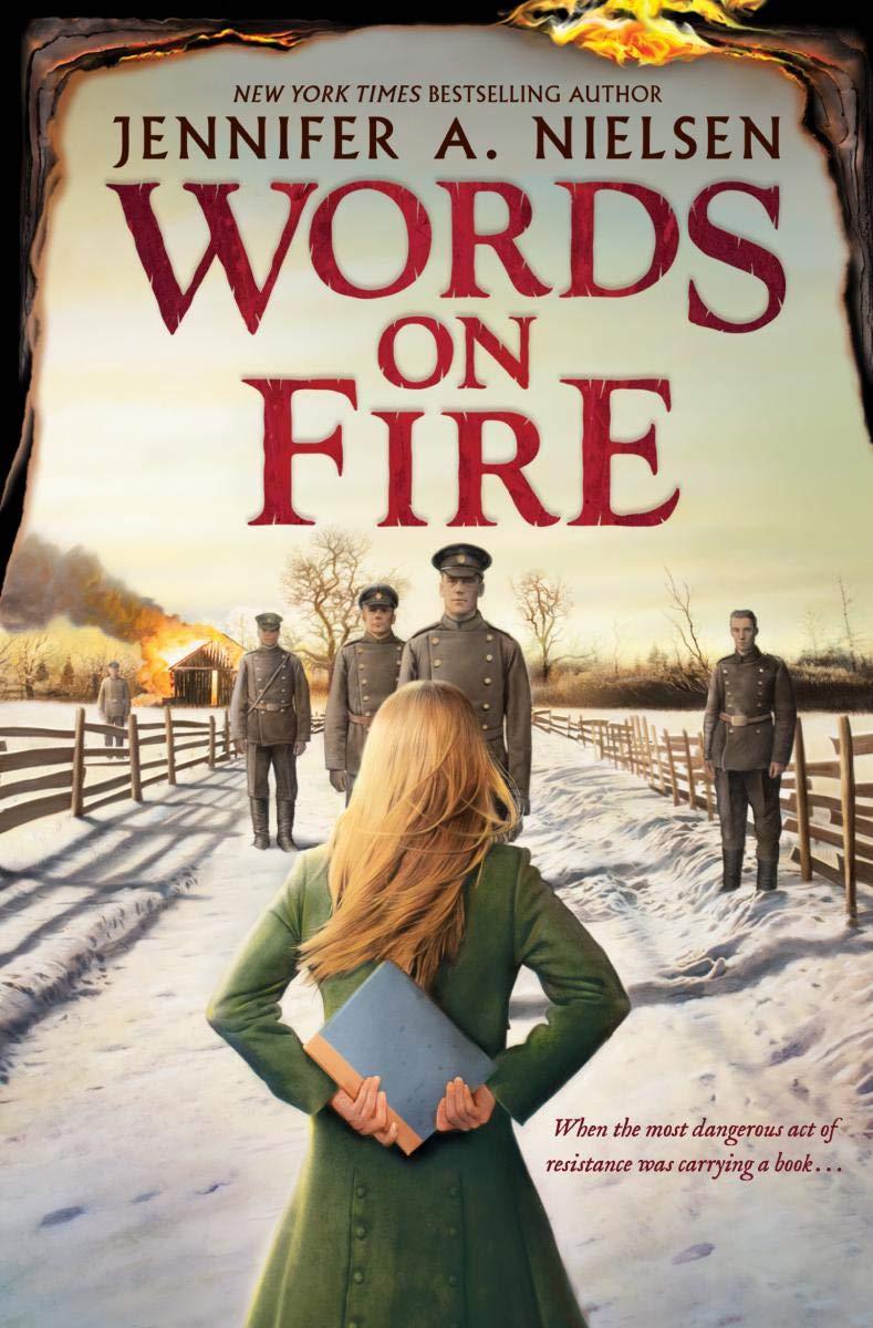 Image result for words on fire by jennifer nielsen