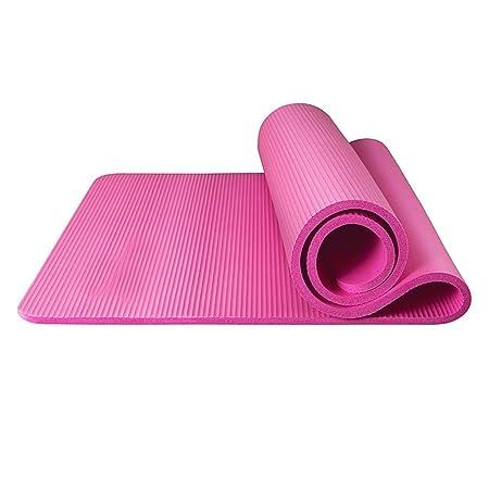 JAG Colchoneta de Yoga Slip para Principiantes Espesamiento ...
