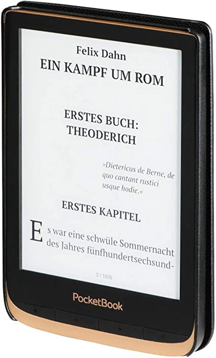 Hama Ebook Case Pocketbook Touch Hd 3 Schwarz Elektronik