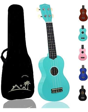 Amazon.es: Ukeleles - Instrumentos de cuerda: Instrumentos musicales