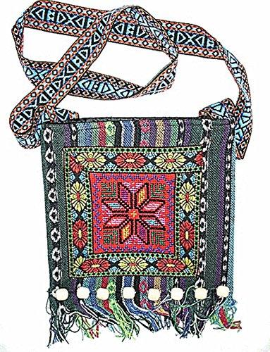 Damen Handarbeit Schultertasche Tasche Umhängetasche Yunan Stil tradionell Accessoires super schön! Stil 2